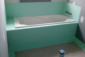 bath waterproofing