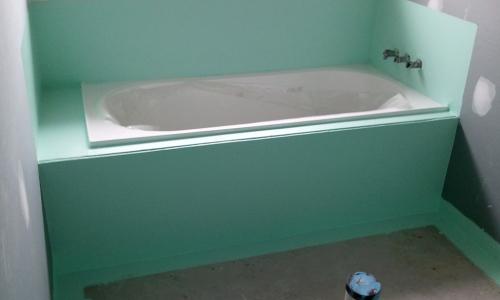 bath waterproofing