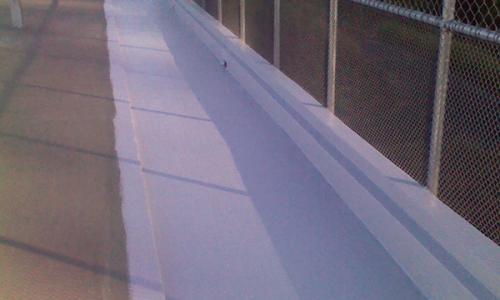 court gutter waterproofing
