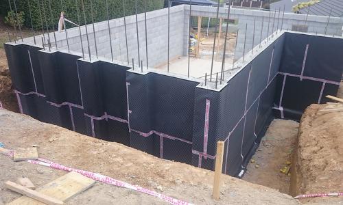 waterproofing tanking